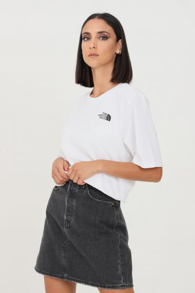 THE NORTH FACE T-shirt donna bianco the north face simple dome  T-shirt   NF0A4CESFN4FN4