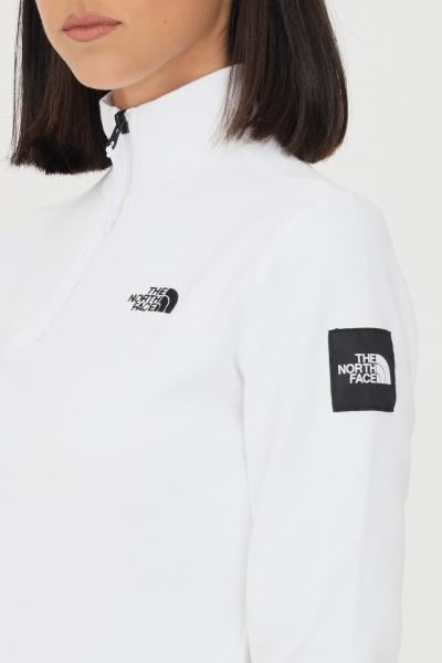 THE NORTH FACE Felpa donna bianco the north face con mezza zip  T-shirt   NF0A5ICUFN41FN41
