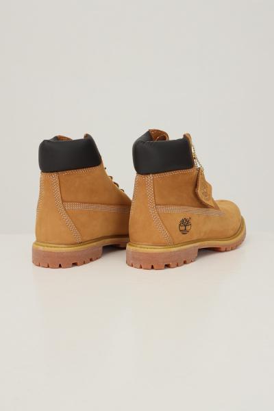 TIMBERLAND Timberland premium 6 in waterproof boot wheat nubuck unisex senape  Stivali | TB01036171317131