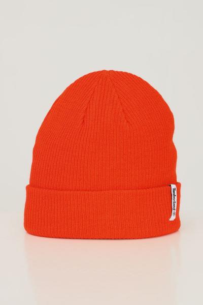 TIMBERLAND Cappello unisex spicy orange timberland con applicazione logo in tessuto  Cappelli   TB0A1F8F84518451