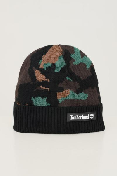 TIMBERLAND Cappello unisex fantasia militare timberland con patch logo frontale  Cappelli   TB0A2NJZCD11CD11