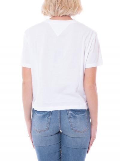 TOMMY HILFIGER tommy hilfiger tee  T-shirt   DW10404YBR