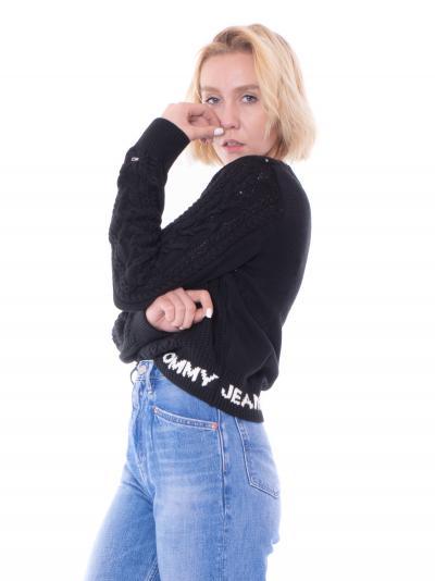 TOMMY HILFIGER tommy hilfiger sweater  T-shirt   DW11004BDS