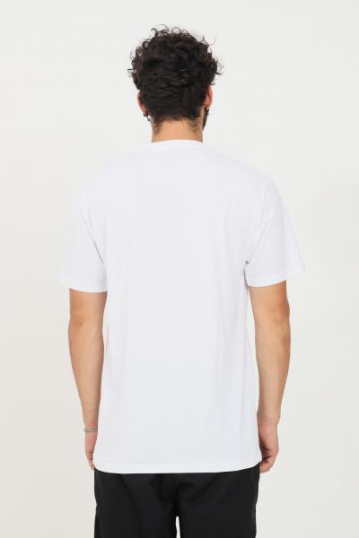 VANS T-shirt Vans Classic uomo bianco vans a manica corta in tinta unita con maxi logo a contrasto frontale. Regular fit  T-shirt | VN000GGGYB21YB21