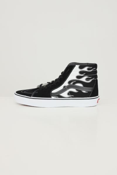 VANS Sneakers sk8 hi unisex nero vans con stampa fiamme  Sneakers | VN0A32QGK681K681