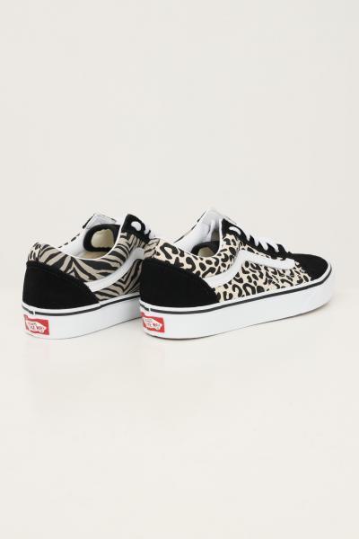 VANS Sneakers old skool animal white da donna vans con stampa allover  Sneakers | VN0A3WKT9XB19XB1