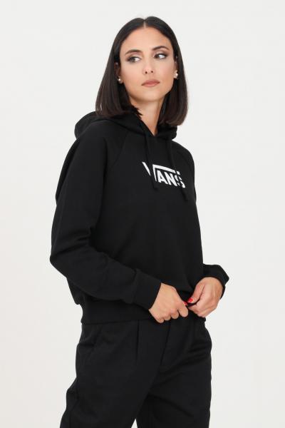 VANS Felpa donna nero vans con cappuccio e logo frontale  Felpe | VN0A4BG3BLK1BLK1