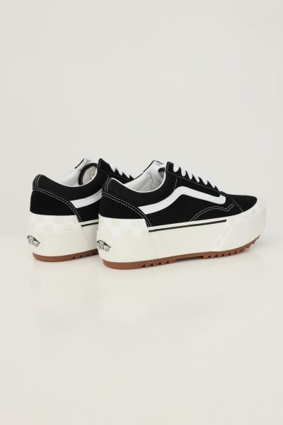 VANS Sneakers old skool stacked donna nero vans con para alta  Sneakers | VN0A4U155ZN15ZN1
