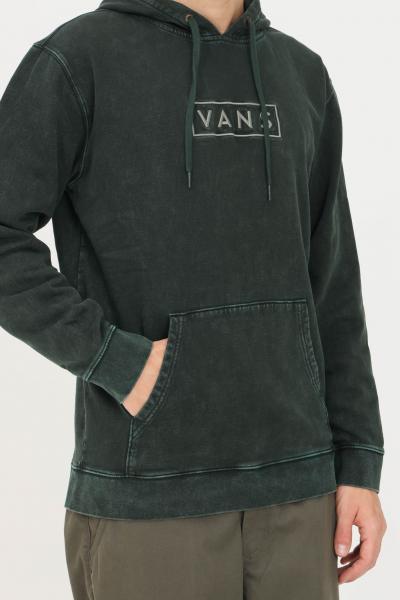 VANS Felpa easy wash uomo verde vans con cappuccio  Felpe | VN0A54ALPRM1PRM1