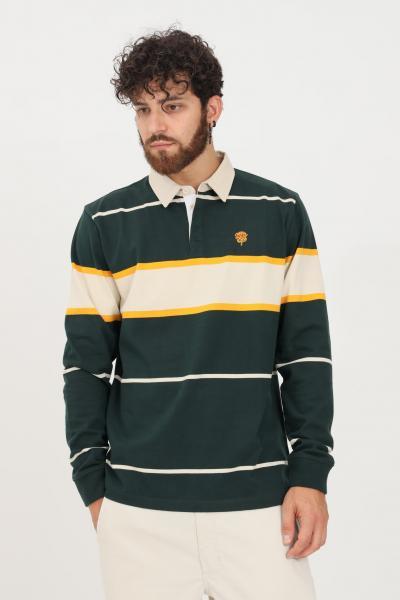 VANS Maglioncino uomo verde vans modello girocollo con colletto  T-shirt | VN0A5EA8PRM1PRM1