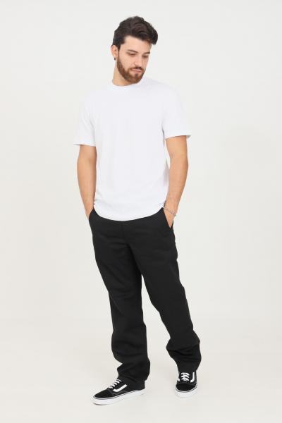 VANS Pantaloni uomo nero vans modello casual con zip e bottone  Pantaloni | VN0A5FJ88BLK1BLK1