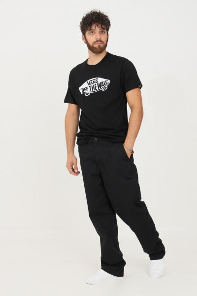 VANS Pantaloni uomo nero vans modello casual  Pantaloni | VN0A5FJBBLK1BLK1