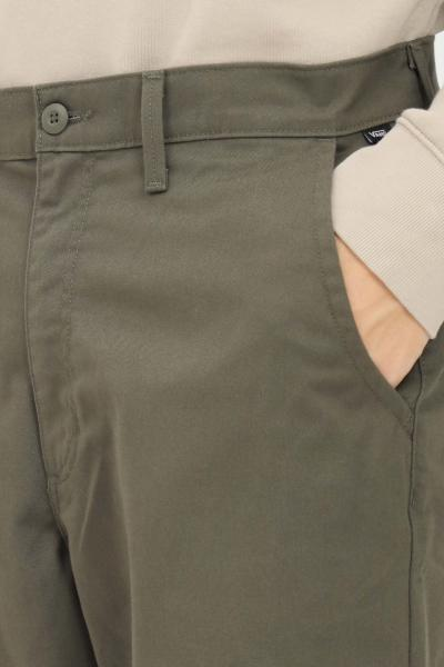 VANS Pantaloni chino authentic loose uomo verde vans  Pantaloni | VN0A5FJBKCZ1KCZ1