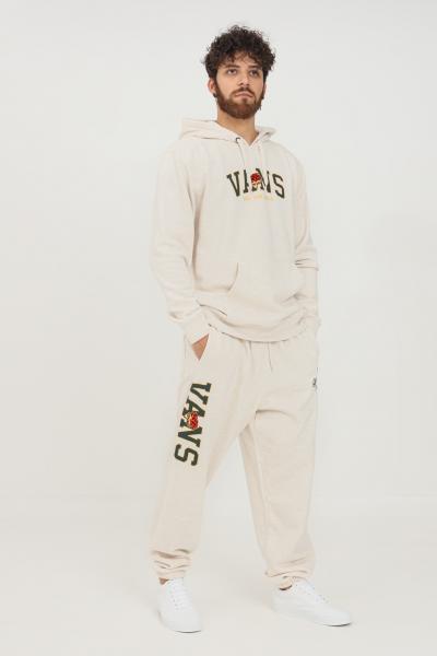 VANS Pantaloni uomo beige vans modello casual con elastico in vita  Pantaloni | VN0A5FJR0HC10HC1