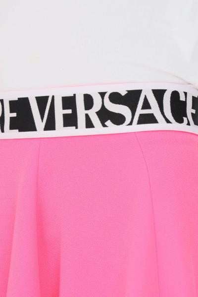 VERSACE JEANS COUTURE Gonna fucsia donna versace jeans couture con logo  Gonne | 71HAE809N0006455