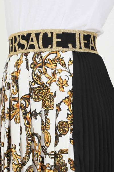 VERSACE JEANS COUTURE Gonna donna fantasia versace jeans couture corta con plisset  Gonne   71HAE811NS006G24(243+948)