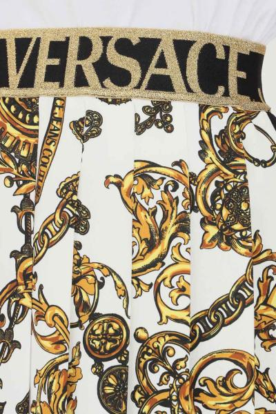 VERSACE JEANS COUTURE Gonna donna fantasia versace jeans couture corta con plisset  Gonne | 71HAE811NS006G89(899+948)