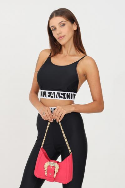 VERSACE JEANS COUTURE Top donna nero versace jeans couture modello casual taglio corto  Top   71HAM214N0008899