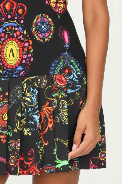 VERSACE JEANS COUTURE Abito nero donna versace jeans couture smanicato  Abiti | 71HAO926NS008899