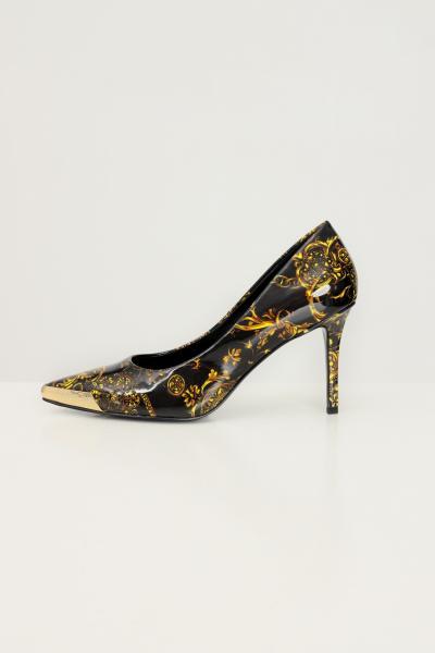 VERSACE JEANS COUTURE Pumps con stampa barocca versace jeans couture  scarpe | 71VA3S5071982G89(899+948)
