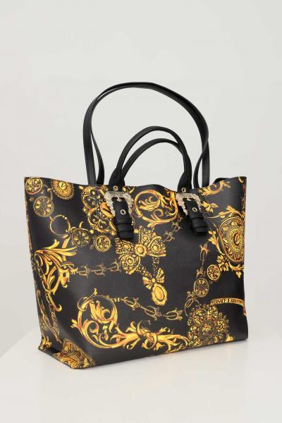 VERSACE JEANS COUTURE Borsa donna fantasia versace jeans couture modello shopper  Borse   71VA4BF971880G89(899+948)