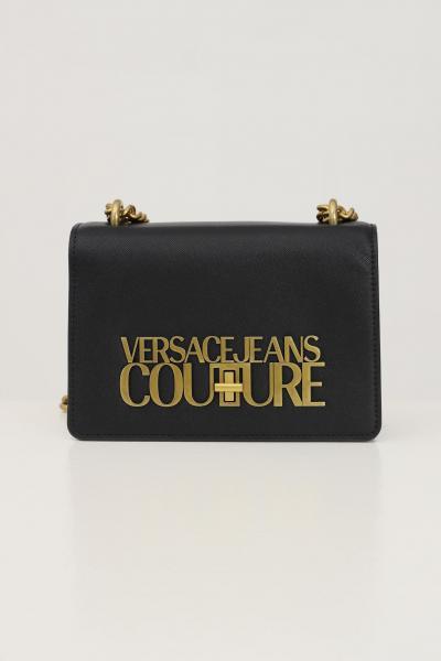 VERSACE JEANS COUTURE Borsa donna nero versace jeans couture con tracolla  Borse   71VA4BL171879899