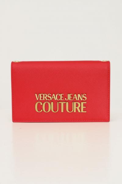 VERSACE JEANS COUTURE Pochette donna rosso versace jeans couture con tracolla in catena  Borse | 71VA5PL671879500