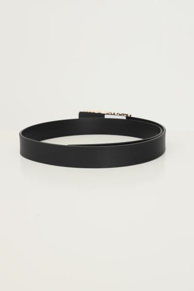 VERSACE JEANS COUTURE Cintura unisex versace jeans couture con maxi logo lettering in metallo oro  Cinture   71VA6F0971627899