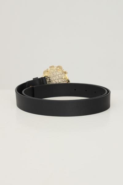 VERSACE JEANS COUTURE Cintura donna nero versace jeans couture con fibbia oro  Cinture | 71VA6F3071627899