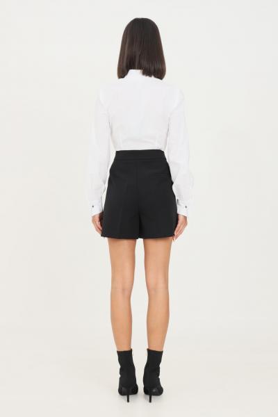 VICOLO Shorts donna nero vicolo elegante con morsetti oro  Shorts   TX0066NERO