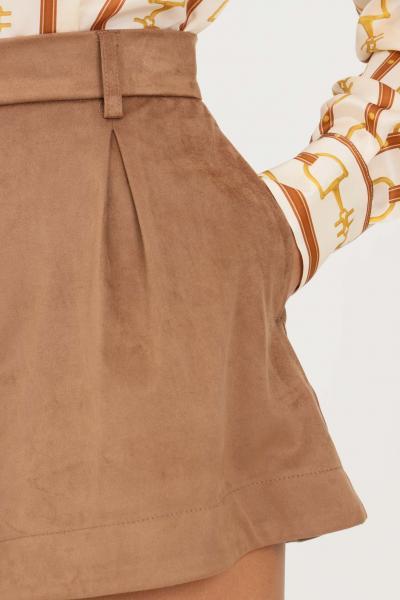 VICOLO Shorts donna marrone vicolo  Shorts   TX0163MARRONE