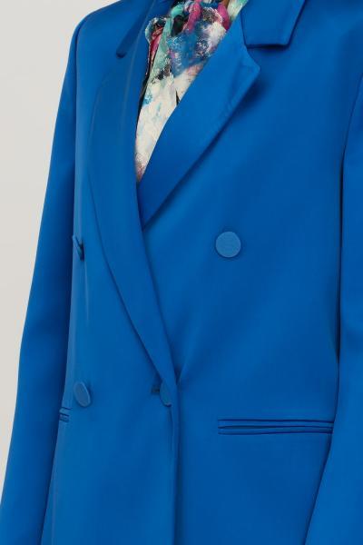 VICOLO Giacca donna blu vicolo doppiopetto chiusura con bottoni  Giacche   TX0371BLU