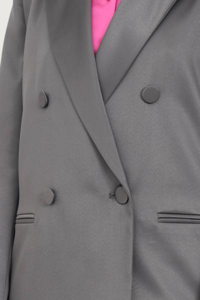 VICOLO Giacca donna grigio vicolo doppiopetto chiusura con bottoni  Giacche   TX0371GRIGIO