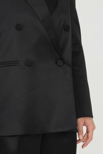 VICOLO Giacca donna nero vicolo doppiopetto chiusura con bottoni  Giacche   TX0371NERO