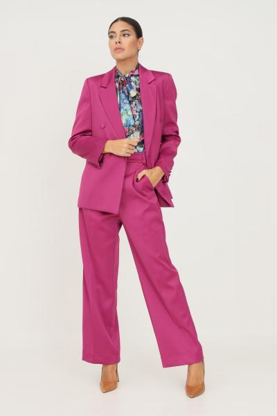 VICOLO Pantaloni donna ciclamino vicolo modello elegante  Pantaloni   TX0372CICLAMINO