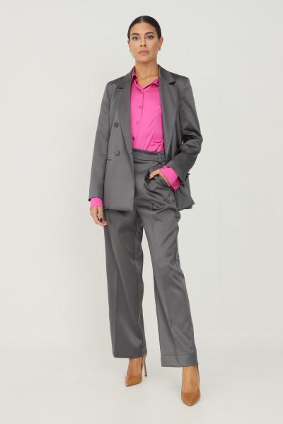 VICOLO Pantaloni donna grigio vicolo modello elegante  Pantaloni   TX0372GRIGIO