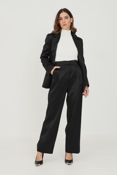 VICOLO Pantaloni donna nero vicolo modello elegante  Pantaloni   TX0372NERO