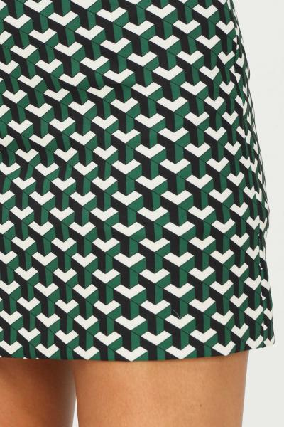 VICOLO Gonna donna verde vicolo corta con stampa geometrica allover  Gonne   TX0829FANTASIA
