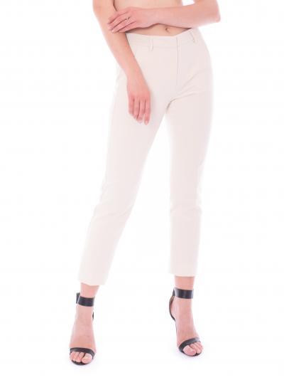 Pantalone lungo avorio da donna   Pantaloni | PATATA029