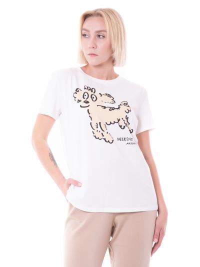 WEEKEND MAXMARA weekend maxmara rana t-shirt  T-shirt | RANA001