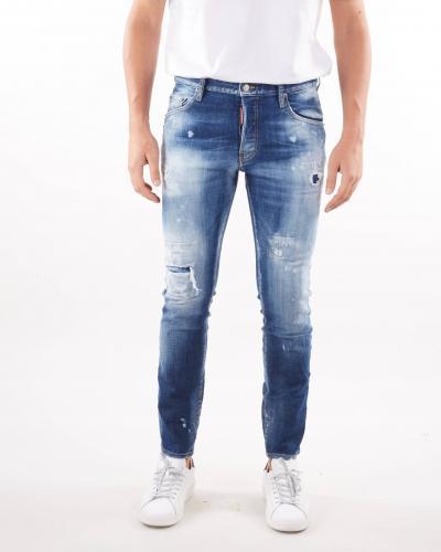 DSQUARED Jeans medium wash Skater Jean Dsquared  Jeans | S74LB0953470