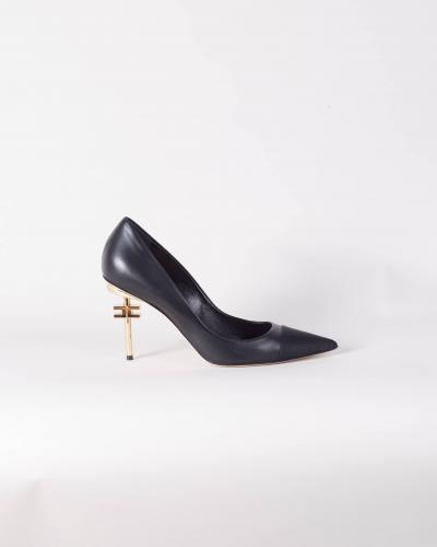 Décolleté donna di colore nero   scarpe | SA30B16E2110
