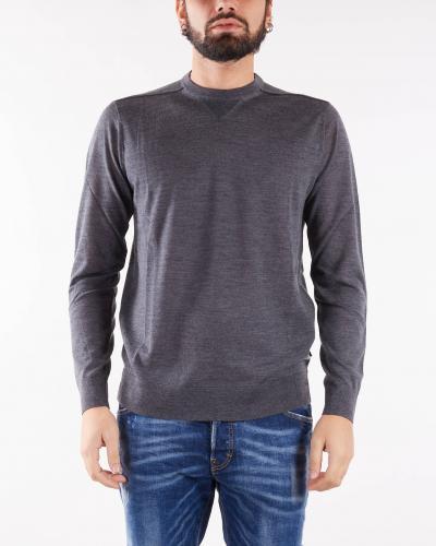 EMPORIO ARMANI Maglia in misto lana vergine rasata Emporio Armani  T-shirt | 8N1MUV1MJWZ631