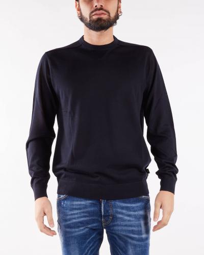 EMPORIO ARMANI Maglia in misto lana vergine rasata Emporio Armani  T-shirt | 8N1MUV1MJWZ920