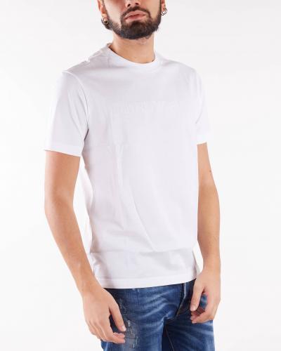 EMPORIO ARMANI T-shirt basic con logo Emporio Armani  T-shirt | 8N1TD21JGYZ146