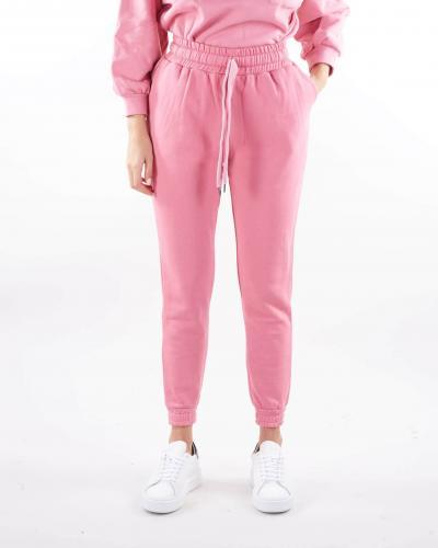 GIULIA N Pantalone in felpa con elastico in vita Giulia N  Pantaloni | PEDRA13T42ROSA