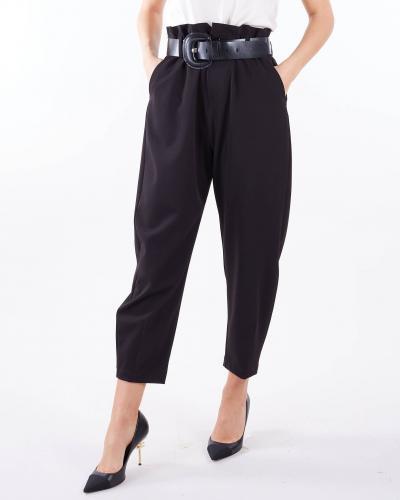 IMPERIAL Pantalone con cintura Imperial  Pantaloni | P1W8CNINERO