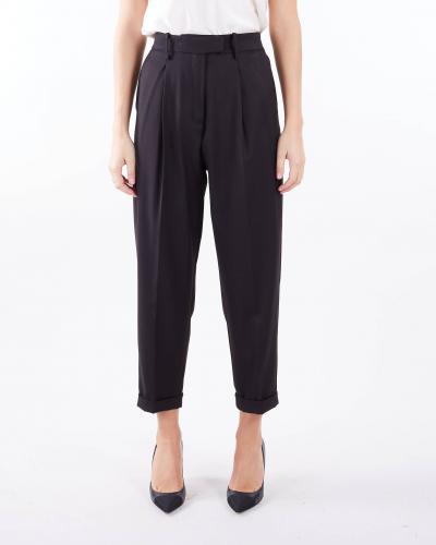 IMPERIAL Pantalone con pences Imperial  Pantaloni | P9990012MNERO