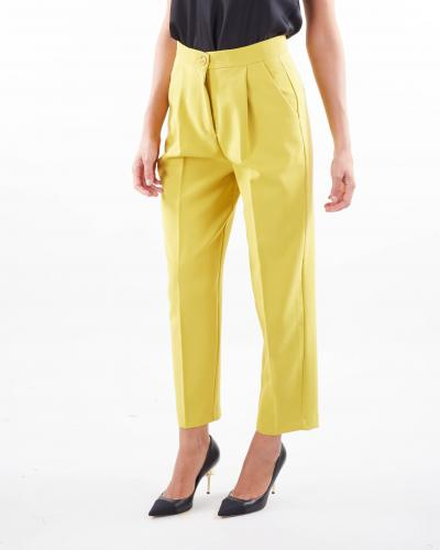IMPERIAL Pantalone con pences Imperial  Pantaloni | P9990015MGIALLO