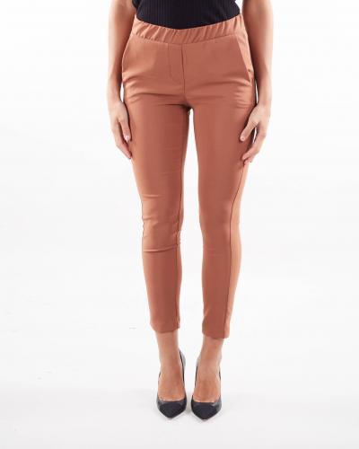 IMPERIAL Pantalone skinny con elastico Imperial  Pantaloni | PSR8CCCCIOCCOLATO